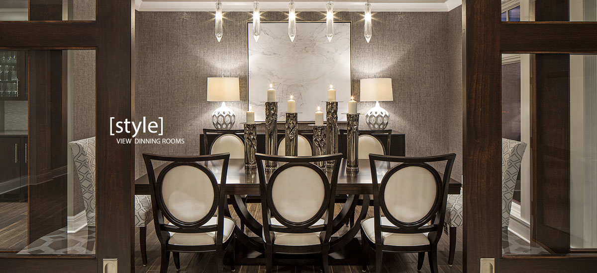 STYLE - View Dinning Rooms